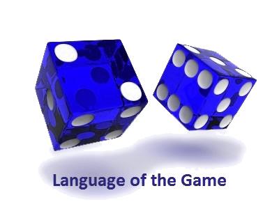 Craps table language